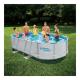 Piscina cadru metalic Summer Waves, 3785 litri, 488x305x107 cm